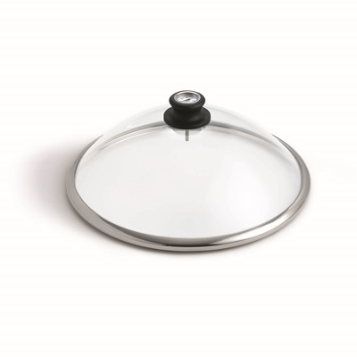 LOTUS GRILL GLASS LID with Temperature Gauge