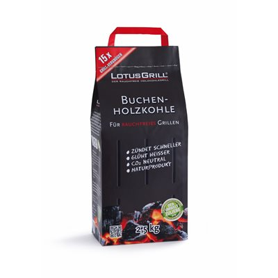 LOTUS GRILL BEECH CHARCOAL in Bag
