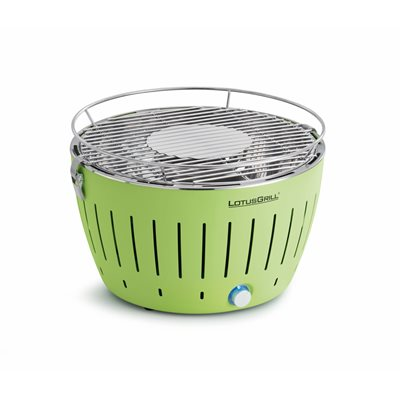 LOTUS GRILL BBQ in Lime Green with Free Fire Lighter Gel