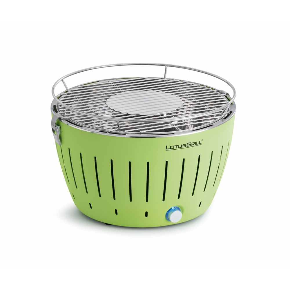 Lotus Grill Bbq In Green With Free Lighter Gel Charcoal Cuckooland