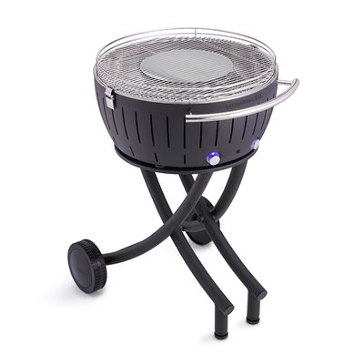 LOTUS GRILL XXL BBQ in Anthracite with Free Fire Lighter Gel & Charcoal