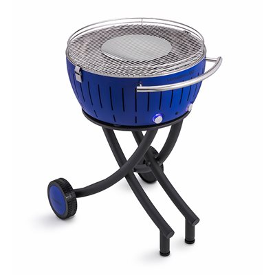 Lotus Grill XXL BBQ in Blue with Free Fire Lighter Gel & Charcoal