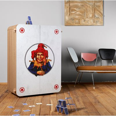 JOLLY Cardboard Storage Cabinet