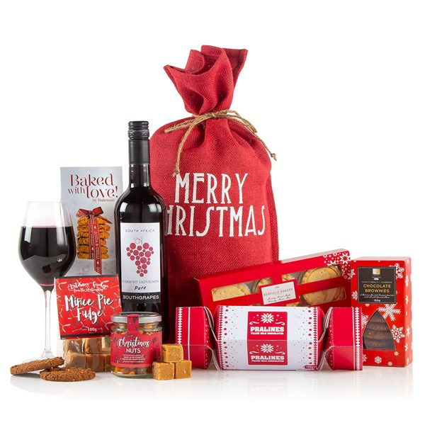 Virginia Hayward Love from Santa Luxury Gift Food Hamper