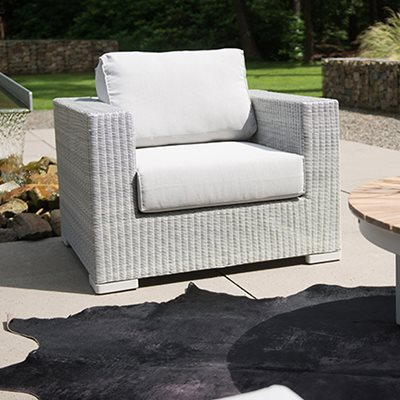 LUCCA RATTAN GARDEN CHAIR by 4 Seasons Outdoor