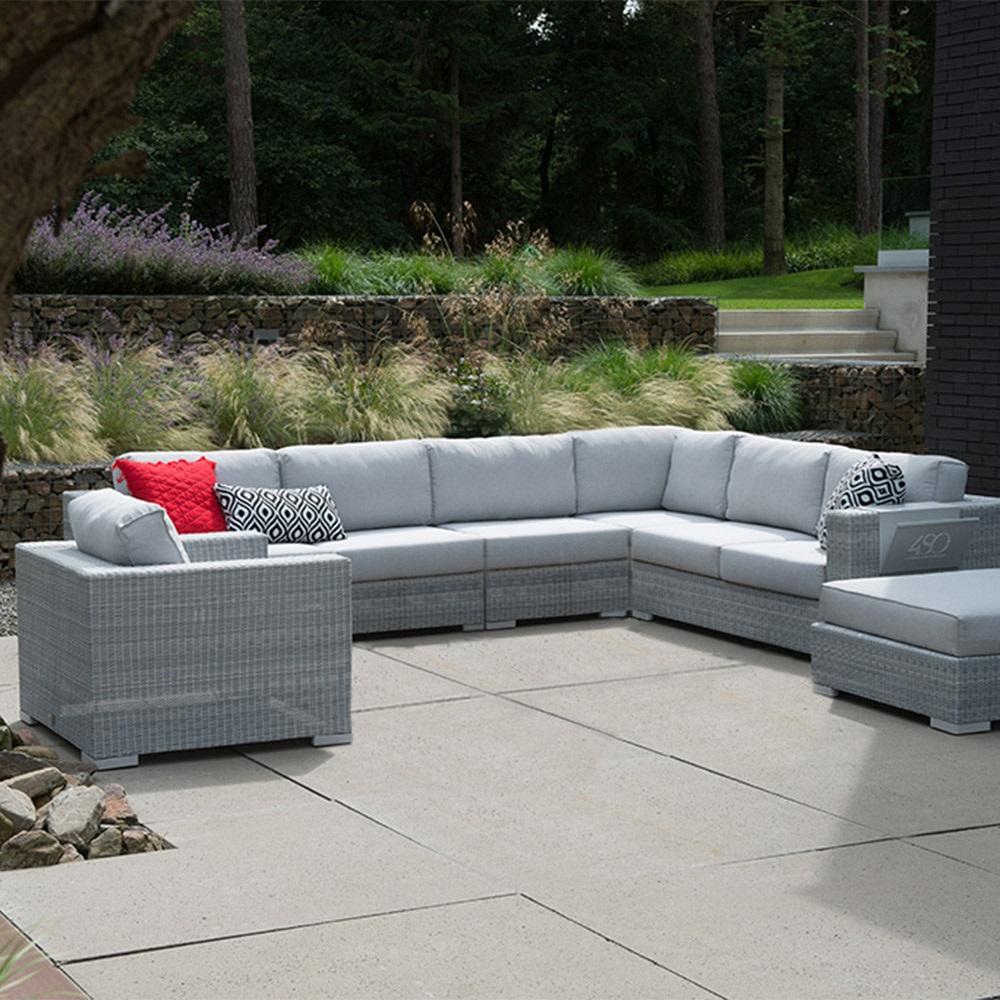corner outdoor sofa hereo sofa