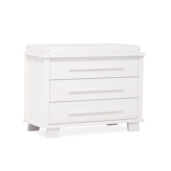 Convertible Changing Unit By Boori in White
