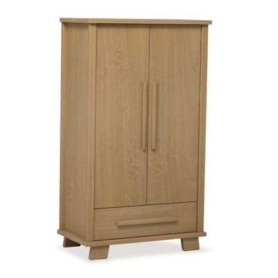 LUCIA 2 DOOR WARDROBE in Almond