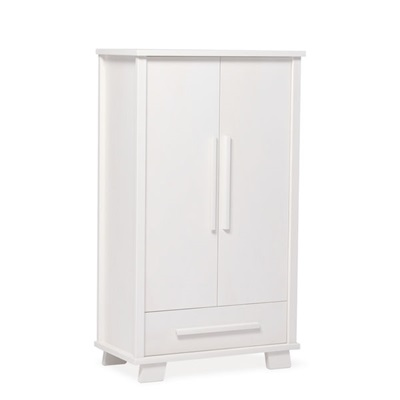 LUCIA 2 DOOR WARDROBE in White