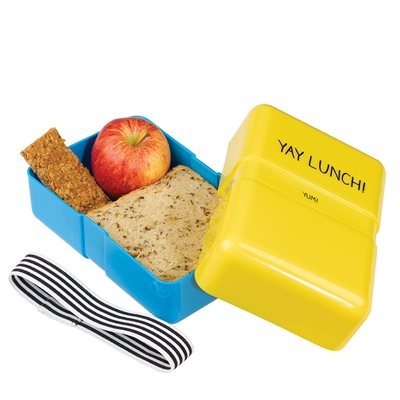 YAY LUNCH BOX in Yellow from Happy Jackson