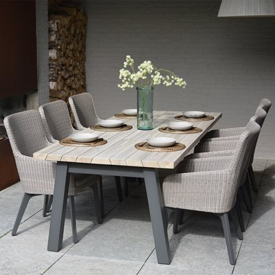 Luxor Garden Dining Set by 4 Seasons Outdoor