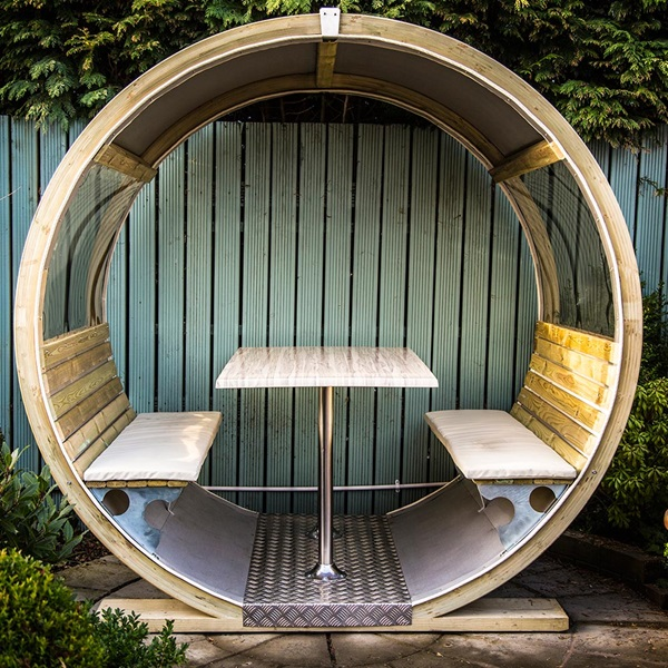 Unique Garden Wheel Bench Ornate Garden Cuckooland