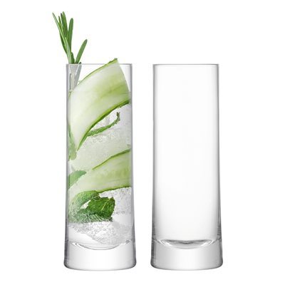 LSA GIN HIGHBALL GLASSES Set of 2
