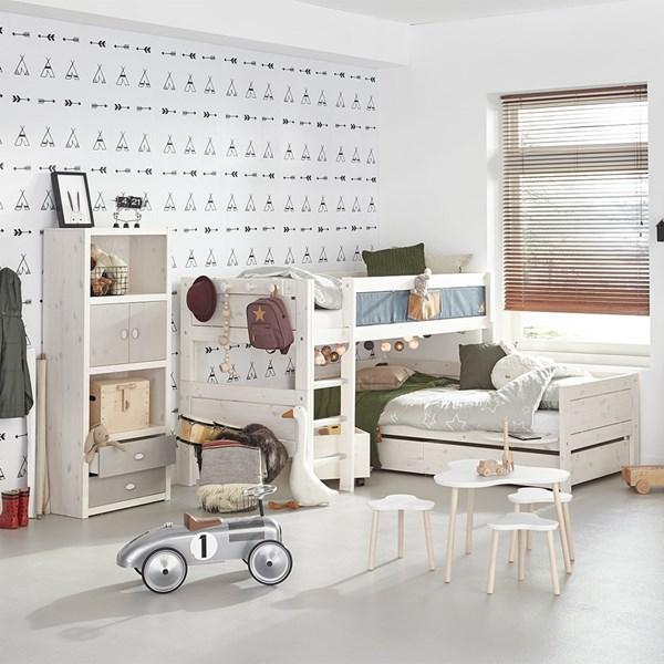 Contemporary Kids Corner Bunk Bed