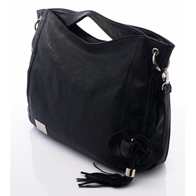 NOVA HARLEY BOHO CHANGING BAG in Black