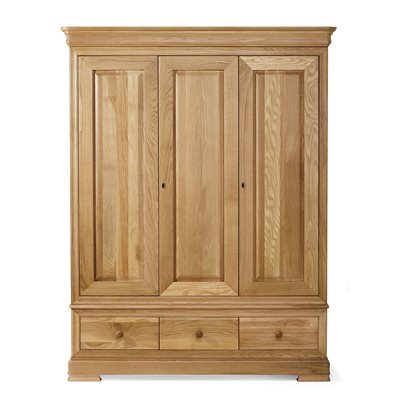 WILLIS & GAMBIER LYON TRIPLE WARDROBE with 3 Drawers