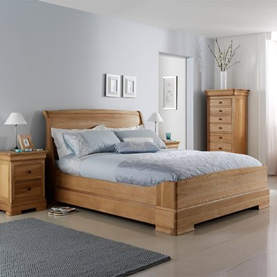 WILLIS & GAMBIER LYON LOW END WOODEN BED FRAME