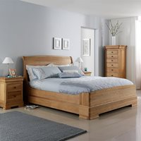 WILLIS & GAMBIER LYON LOW END WOODEN BED FRAME  King