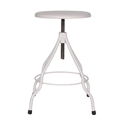 LYONNE STOOL in White