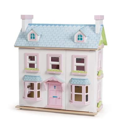 LE TOY VAN MAYBERRY MANOR DOLL HOUSE with Chimneys