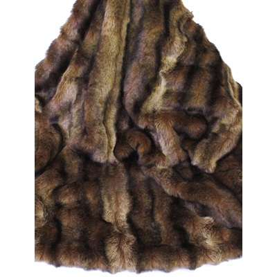 SABLE Faux Fur Throw by Helen Moore