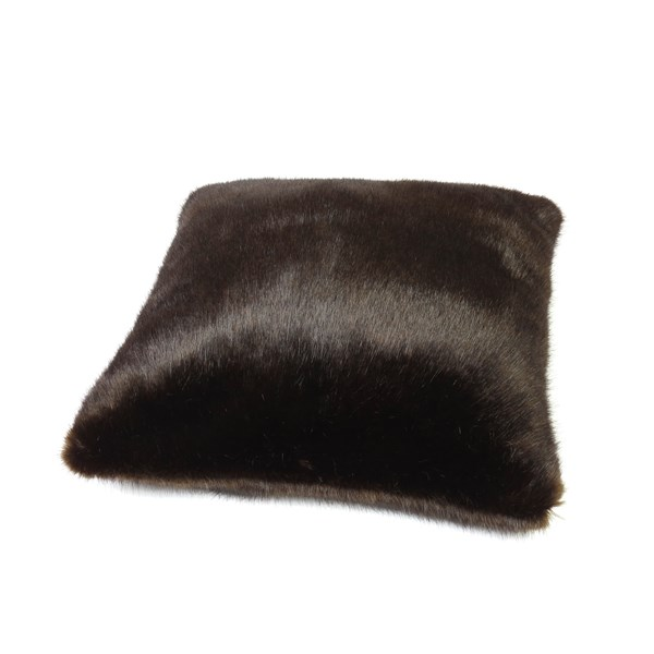 FAUX FUR Treacle Cushion
