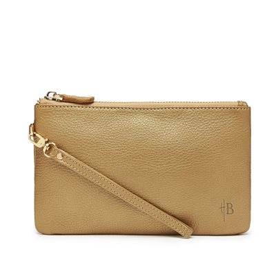 MIGHTY PURSE in Bronze Cow Leather