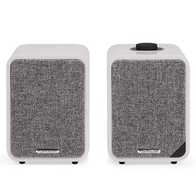 RUARK AUDIO MR1 MK2 BLUETOOTH SPEAKERS in White
