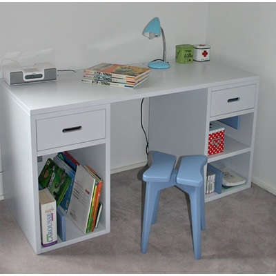 Mathy by Bols Kids Desk in Madaket Design