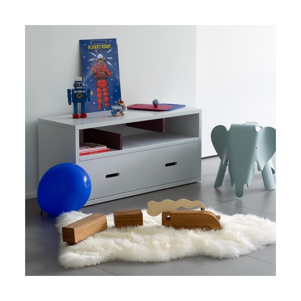 Madaket Kids Side Table and Book Storage by Mathy By Bols
