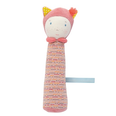 MOULIN ROTY CHILDRENS MADEMOISELLE SQUEAKY TOY