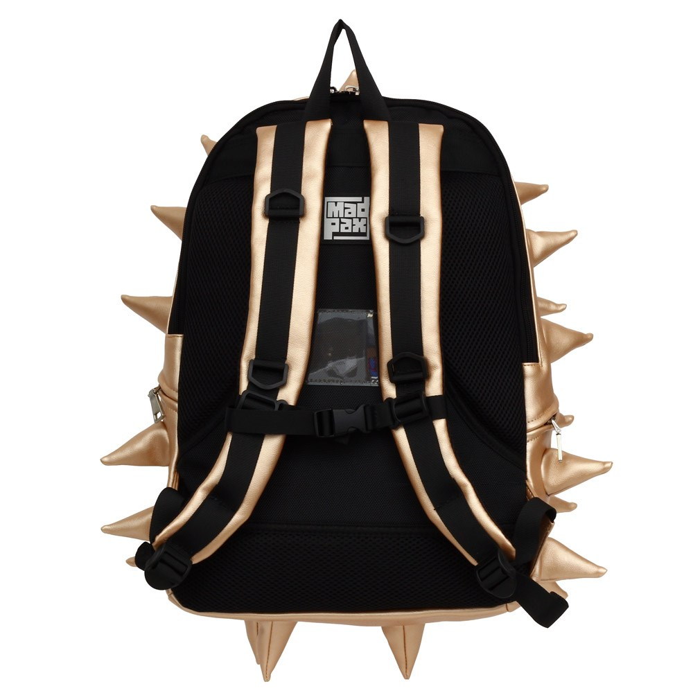 6e16462b8e Madpax Metallic Spike Jackpot Backpack · Metallic Gold Backpack