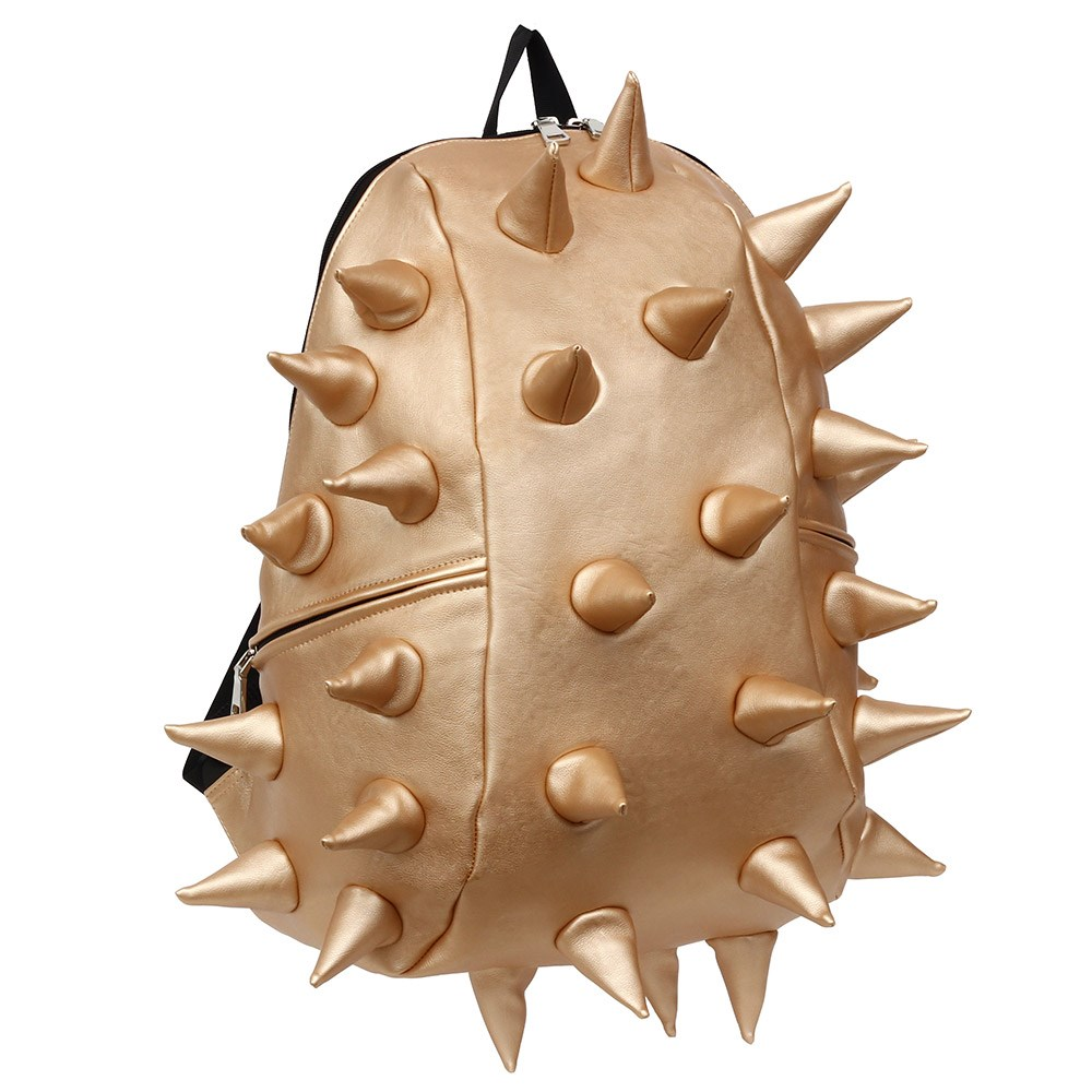 a79957993c Madpax Metallic Spike Backpack In Jackpot Gold - Madpax