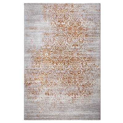 ZUIVER MAGIC WOVEN FLOOR RUG in Butter Yellow