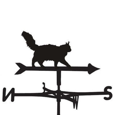 WEATHERVANE in MainCoon Cat Design