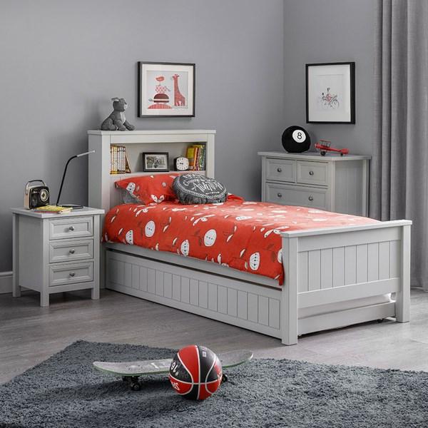 Maine Bookcase Bed by Julian Bowen