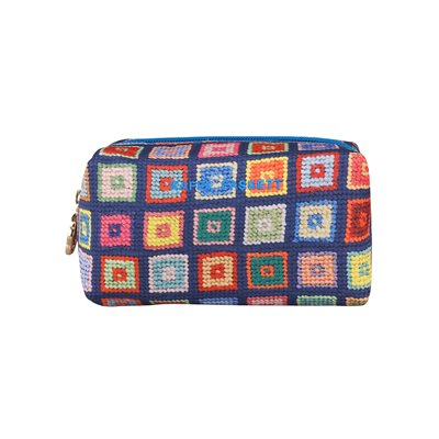 KAFFE FASSETT ON POINT MAKE-UP BAG