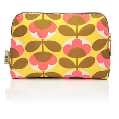 ORLA KIELY COSMETIC BAG in Oval Flower