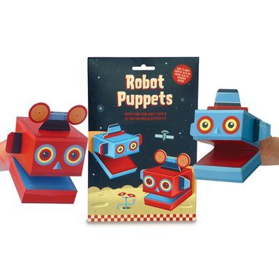 ROBOT PUPPETS ACTIVITY KIT