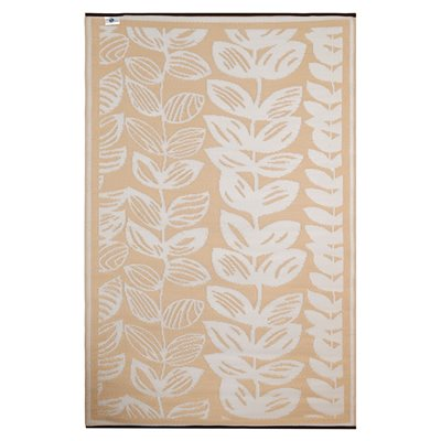 FAB HAB MALE OUTDOOR RUG in Cream & Beige