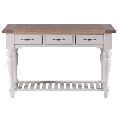 WILLIS & GAMBIER MALVERN CONSOLE TABLE in Birch and Oak