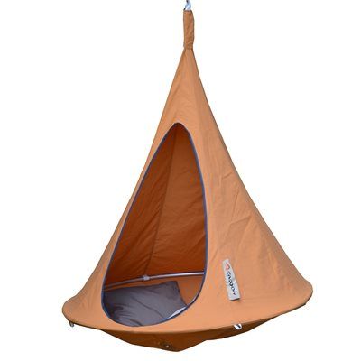 Bonsai Cacoon Kids Hanging Chair in Mango Orange