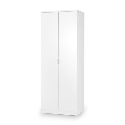 MANHATTAN 2 DOOR WARDROBE in White by Julian Bowen
