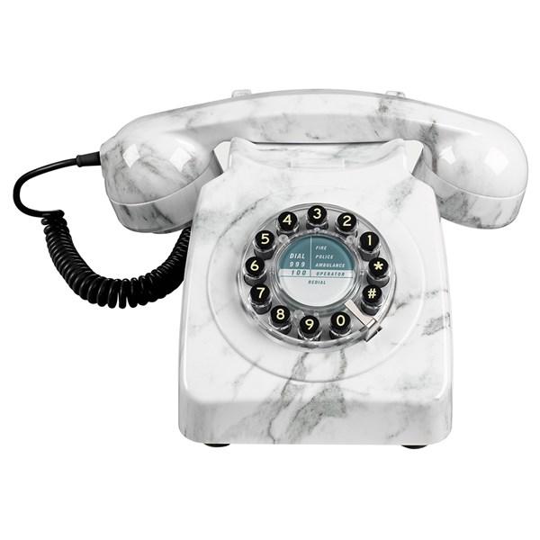 Stunning Designer Marble Retro Telephone