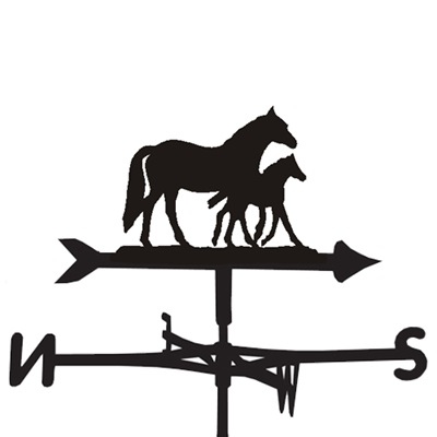 WEATHERVANE in Mare & Foal Design