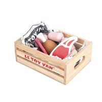 Le Toy Van Meat Crate for Honeybee Market