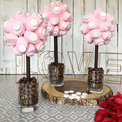 SWEET TREE in Marshmallow & Love Hearts