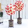 Red Haribo Heart Marshmallow Sweet Tree