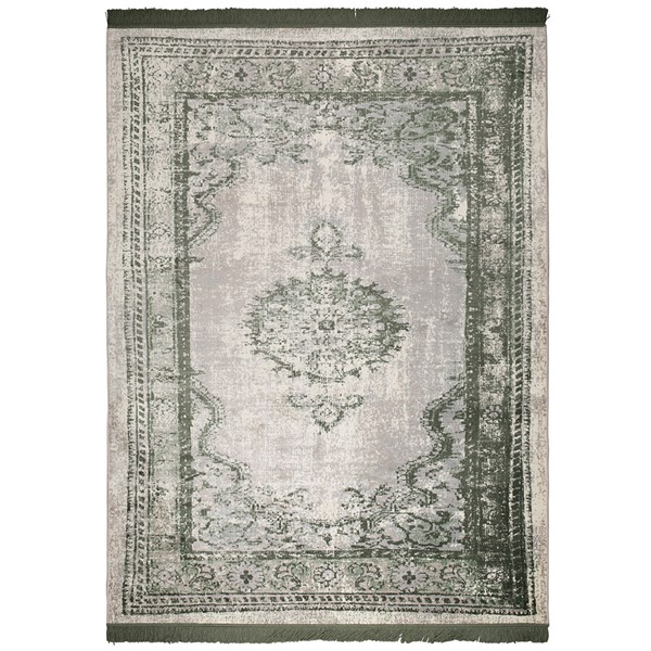 Zuiver Marvel Persian Style Rug in Moss Green
