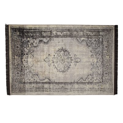 MARVEL PERSIAN STYLE RUG in Black
